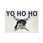 Yo Ho Ho Rectangle Magnet (10 pack)