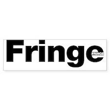 fringe mug Bumper Sticker