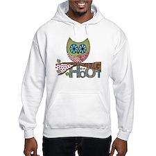 Scrapbooking is a Hoot Hoodie Sweatshirt