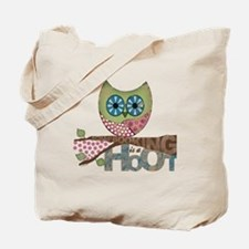 Scrapbooking is a Hoot Tote Bag