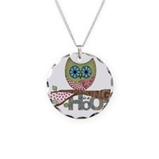 Scrapbooking is a Hoot Necklace