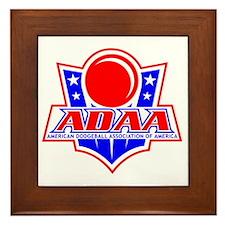Dodgeball-ADAA Framed Tile