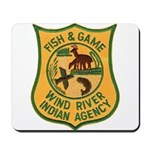 Wind River Game Warden Mousepad