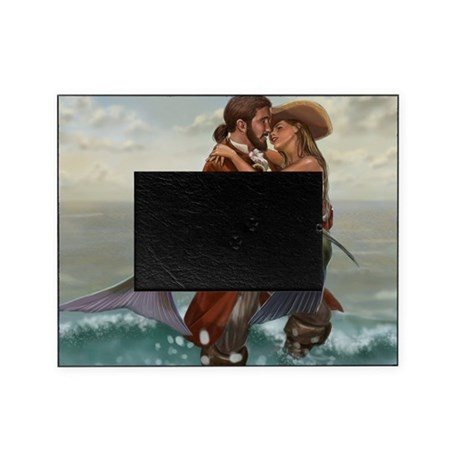 pirate and mermaid Picture Frame