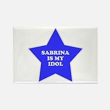 Sabrina Is My Idol Rectangle Magnet