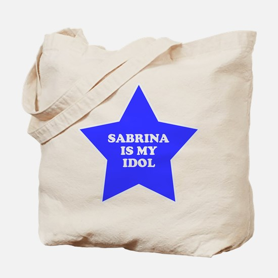 Sabrina Is My Idol Tote Bag
