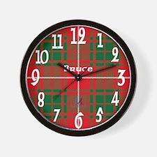 Bruce Clan Wall Clock