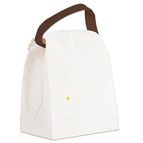PorcupineMountains-White Canvas Lunch Bag