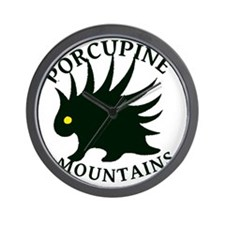 PorcupineMountains Wall Clock