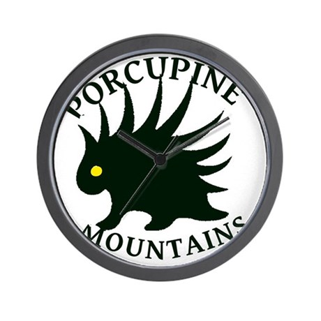 PorcupineMountains Wall Clock