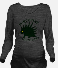 PorcupineMountains Long Sleeve Maternity T-Shirt