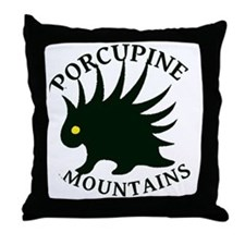 PorcupineMountains Throw Pillow