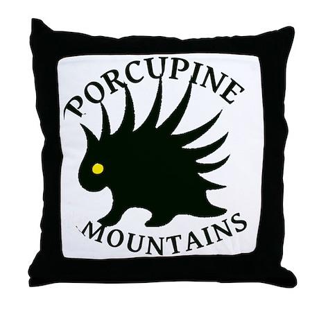 PorcupineMountains Throw Pillow