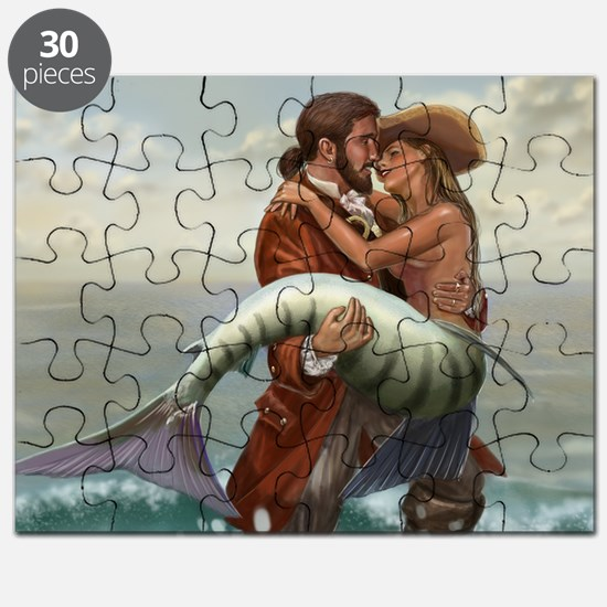 pirate and mermaid mousemat Puzzle
