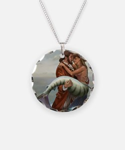pirate and mermaid mousemat Necklace