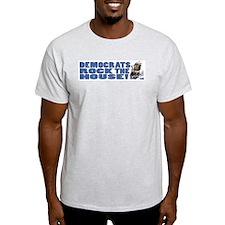 Democrats Rock Donkey T-Shirt