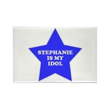 Stephanie Is My Idol Rectangle Magnet