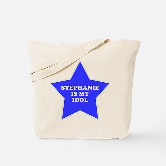 Stephanie Is My Idol Tote Bag