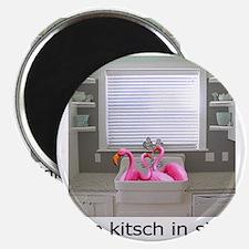 sink flamingos 1 Magnet