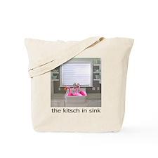 sink flamingos 1 Tote Bag