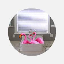 "sink flamingos 1 for black copy 3.5"" Button"