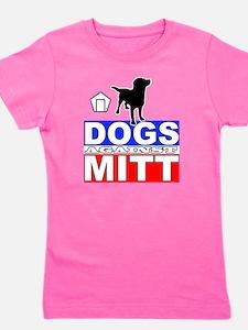 Mitt Romney Dogs Against Mitt 2 Girl's Tee