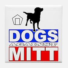 Mitt Romney Dogs Against Mitt 2 Tile Coaster
