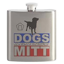 Mitt Romney Dogs Against Mitt 2 Flask