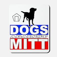 Mitt Romney Dogs Against Mitt 2 Mousepad