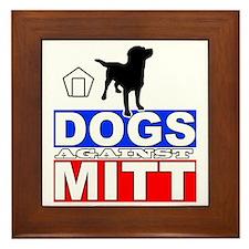 Mitt Romney Dogs Against Mitt 2 Framed Tile