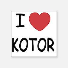 "KOTOR Square Sticker 3"" x 3"""