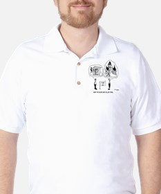 5964_real_estate_cartoon Golf Shirt