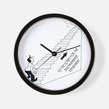 5959_business_cartoon Wall Clock