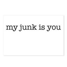 my junk is you Postcards (Package of 8)
