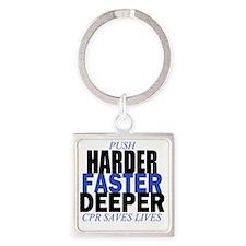 HARDER Square Keychain