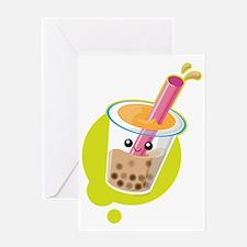 boba Greeting Card