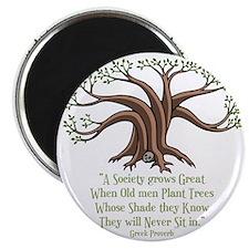 greek-trees-DKT Magnet