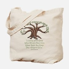 greek-trees-DKT Tote Bag