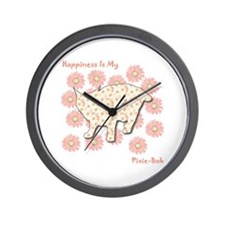Pixie-Bob Happiness Wall Clock