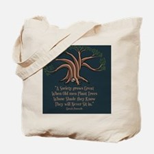 greek-trees-BUT Tote Bag