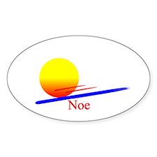 Noe Oval Decal