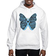 Thyroid Disease Butterfly Hoodie