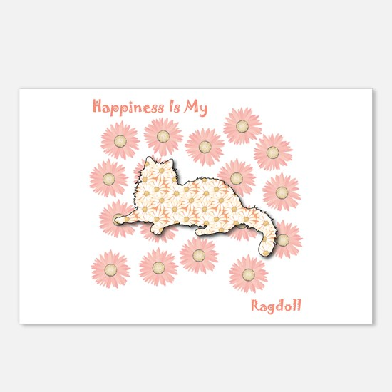 Ragdoll Happiness Postcards (Package of 8)