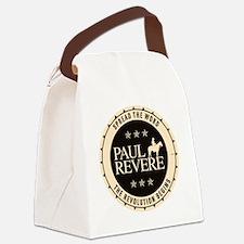 jan11_paul_revere2 Canvas Lunch Bag