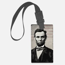 mar11_abe_lincoln Luggage Tag