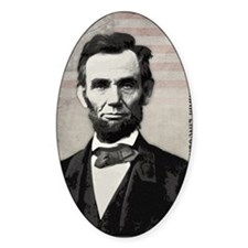 mar11_abe_lincoln Decal