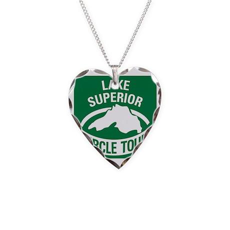 LkSuperiorCirTour Necklace Heart Charm