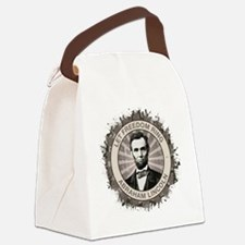 sept_let_freedom_ring Canvas Lunch Bag
