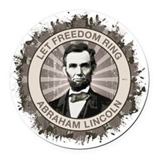 sept_let_freedom_ring Round Car Magnet
