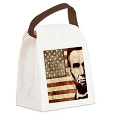 april11_lincoln Canvas Lunch Bag